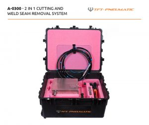 A-0300 - cutting and weld seam suitcase