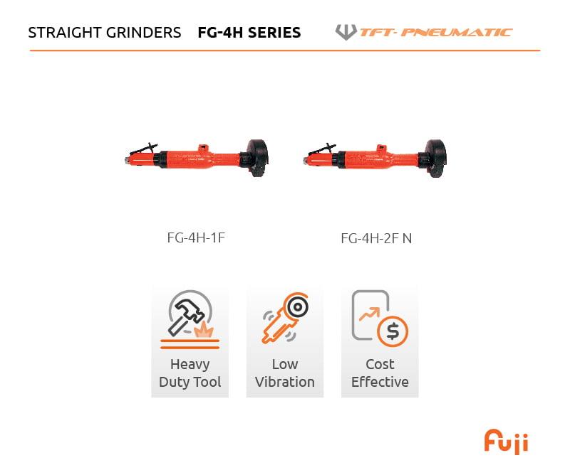 "FG-4H Series   4"" Straight Grinders 1"