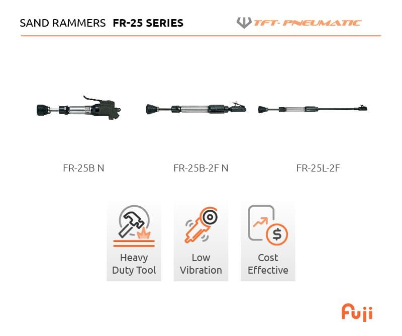 FR-25 Series Sand Rammers Full list