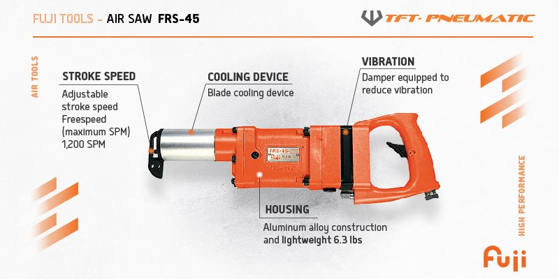 FUJI Air Saw FRS-45