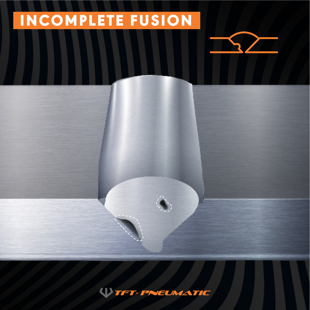 Incomplete Fusion - Welding Defects
