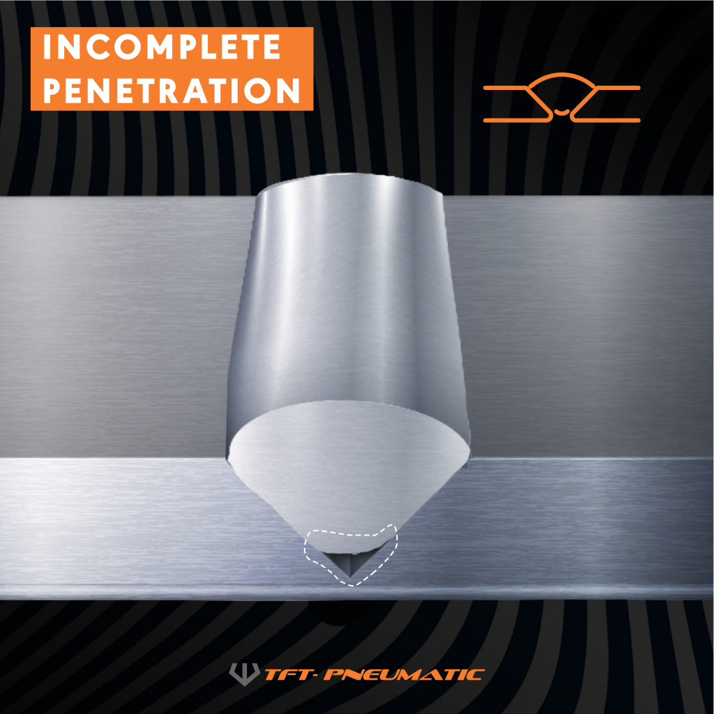 Incomplete Penetration - Welding Defect