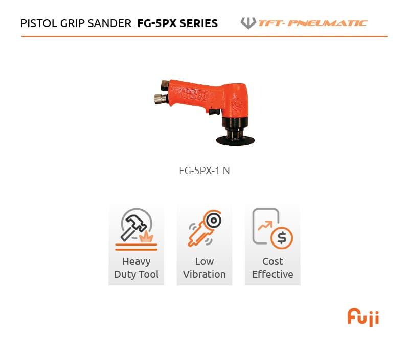 Pistol grip sander FG-5PX Series Full list