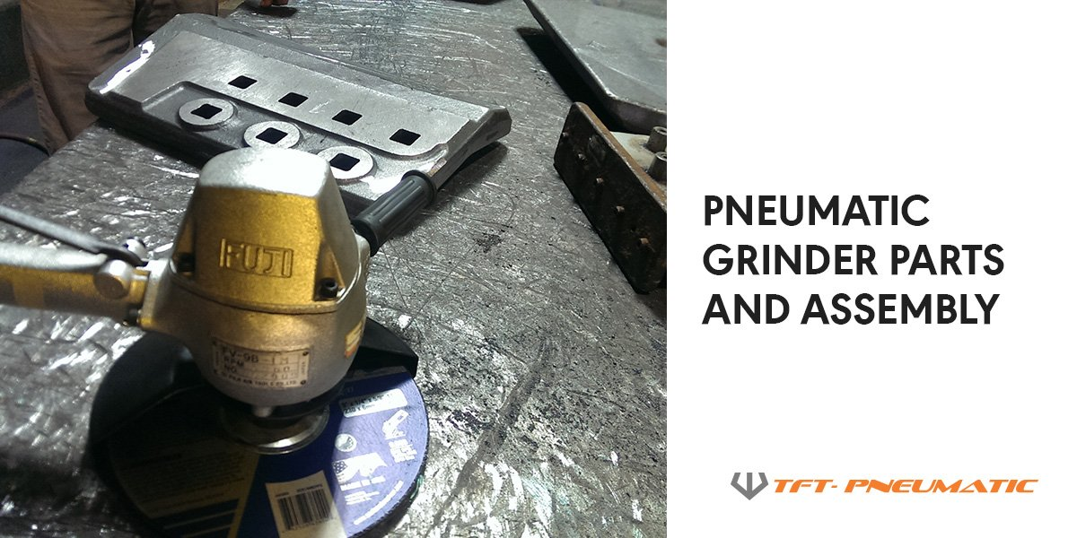 Pneumatic-Grinder-Parts-Assembly