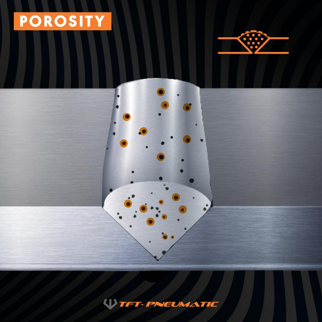 Porosity - Welding Defect