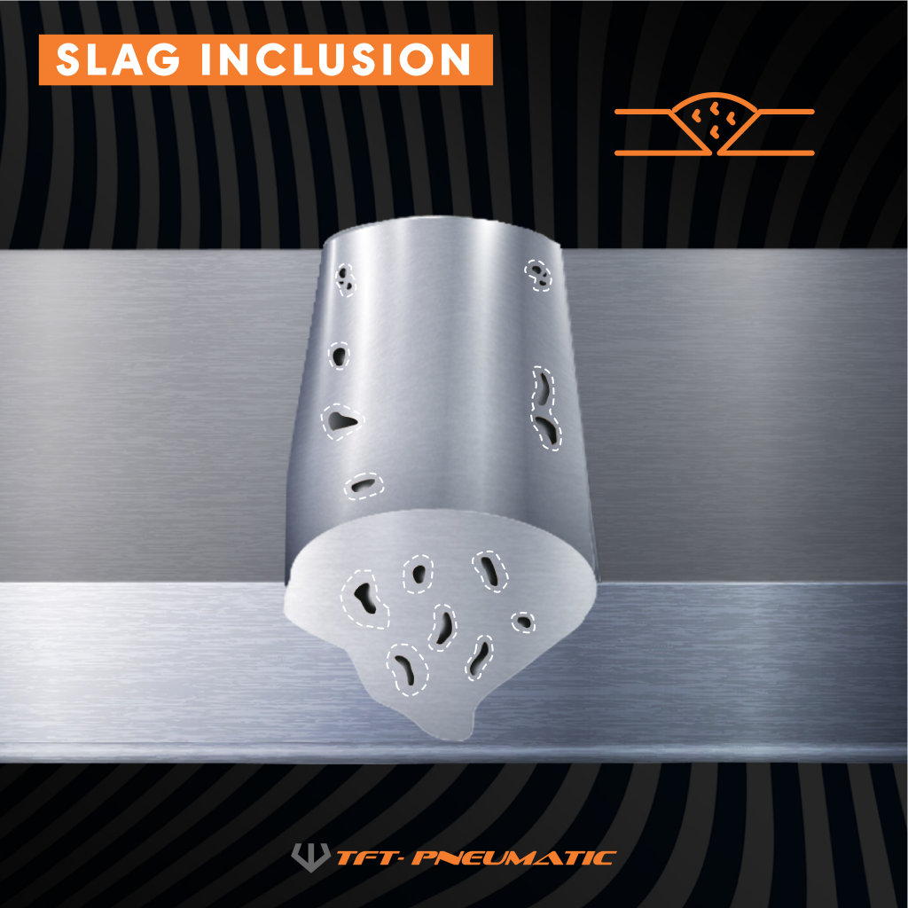 Slag Inclusion - Welding Defect