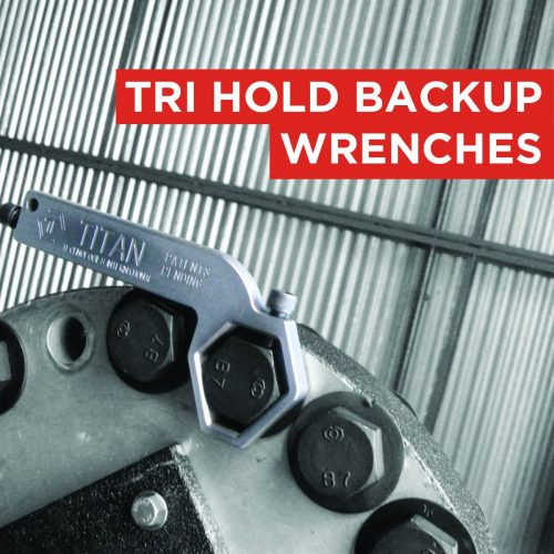 Tri Hold backup wrenches