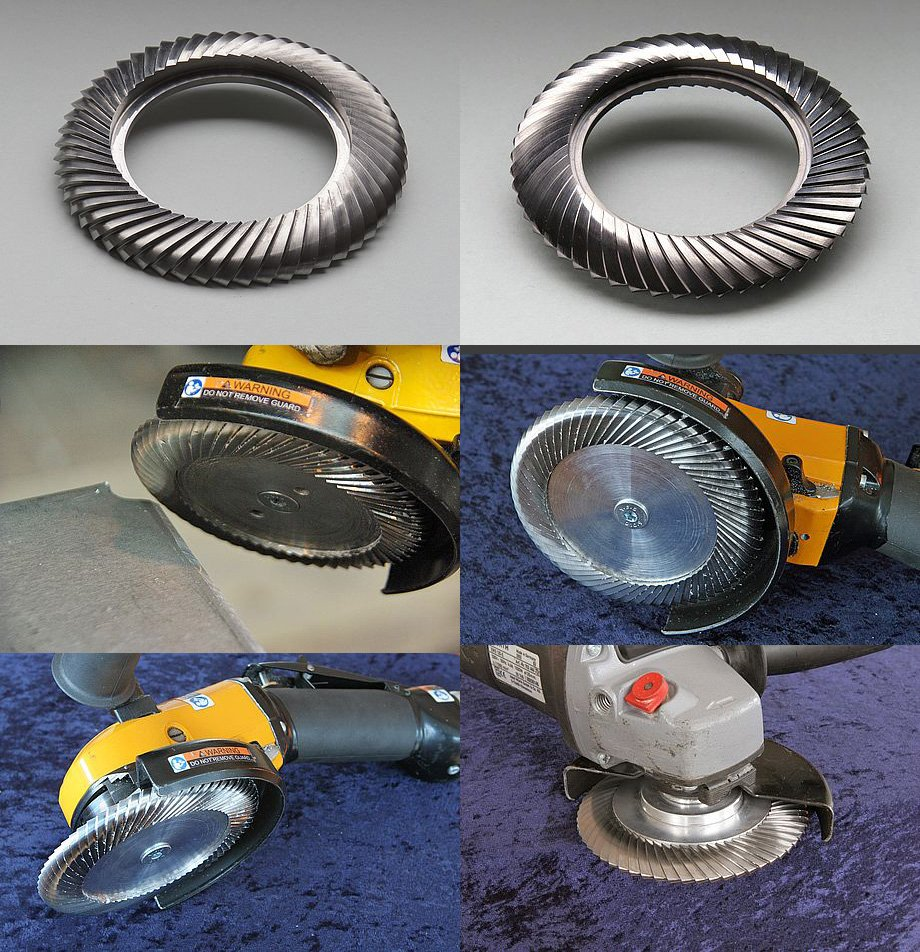 Cutting and Grinding Wheels - TFT Milling Discs