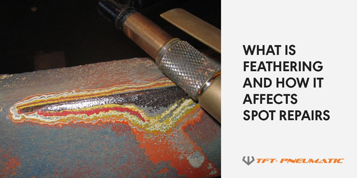 What is feathering and how it affects spot repairs