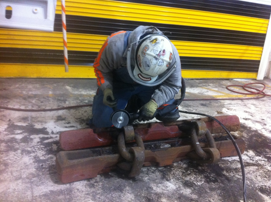 TFT-PNEUMATIC Certified COLD Work cutting – Safe for use in Explosive Areas. No risk of Ignition.