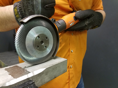 SAFER ALTERNATIVE – TFT Milling Discs for steel