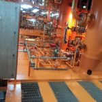 After final coat in gas compresor area