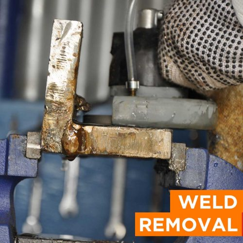 Weld Removal